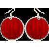 Earrings Red - Naušnice -