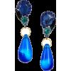 Earrings Blue - Naušnice -