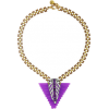 Necklaces Purple - Necklaces -