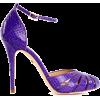 Purple - Sandale -