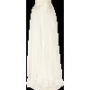 Skirts White - Gonne -