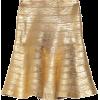 Skirts Gold - Faldas -