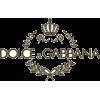 dolce & gabbana logo - Texts -