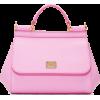 dolce & gabbana pink mini miss sicily ba - Hand bag -