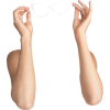 doll parts arms with glasses - People -