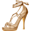 Donna-karan Sandals Gold - Sandalen -