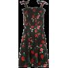 dorothy perkins Black Shirred Sleeve Ska - Dresses - £22.00  ~ $28.95