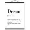 dream - 插图用文字 -