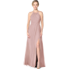 dress in dusty rose colour - People -