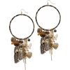 Earrings Brown - Earrings -