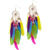 Earrings Colorful - Naušnice -