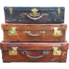 early 1900s suitcases - Articoli -