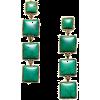 Earrings Green - Kolczyki -