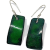 earrings blue green - Ohrringe -