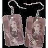 earrings by literary gift company - Серьги -