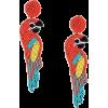 earrings parrot - Ohrringe -
