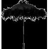 Black Feathers Parasol - Items -