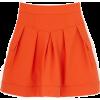 Orange Skirt - Suknje -
