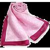 Pink Silk Scarf - Scarf -