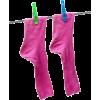 Socks On A Washing Line - Objectos -