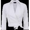 elisabetta franchi Short blouse with sas - Camisas -