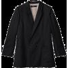 アメリカンラグ シー[AMERICAN RAG CIE] W/Siロングテーラージャケットブラック - Suits - ¥36,750  ~ $326.53