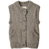 アメリカンラグ シー[AMERICAN RAG CIE] 【navasana】ペルーハンドニットベストグレー - Vests - ¥13,650  ~ $121.28