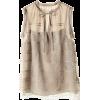 ドゥーズィエム クラス[DEUXIEME CLASSE] シルクシフォンレースノースリーブ ブラウスベージュ - Shirts - ¥30,450  ~ $270.55