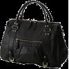 ガリャルダガランテ[GALLARDAGALANTE] タックポケットボストンブラック - Hand bag - ¥14,490  ~ $128.74