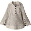アウラ アイラバスケットニットポンチョ - Jacket - coats - ¥40,950  ~ $363.84