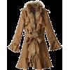 スナールエクストララクーン付きラッフルコート - Jacket - coats - ¥34,650  ~ $307.87