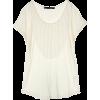 マルティニーク[martinique] フロントフリルカットソーホワイト - T-shirts - ¥13,650  ~ $121.28