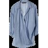 マルティニーク[martinique] 【再入荷】テンセルコットンシャンブレーカシュクールシャツスカイブルー - 長袖シャツ・ブラウス - ¥15,540