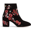 embroidered ankle boots by Stradivarius - Boots -
