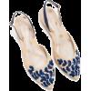 embroidered pumps - Sapatos clássicos -