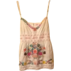 embroidered tank - Tanks -