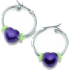 energetix Earrings Silver - Aretes -