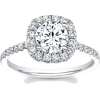 engagement diamond ring - Rings -