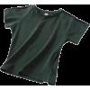 exposed umbilical short T-shirt - T-shirts - $19.99