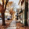fall sidewalk - Moje fotografije -