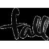 fall text - Texte -