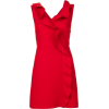 fashion, cocktail dress, red - 连衣裙 -