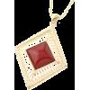 ダイヤ形BIGモチーフネックレス - Necklaces - ¥1,890  ~ $16.79