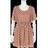 大ドットフレアスリーブOP - Dresses - ¥5,985  ~ $53.18