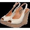 キャンバスコルクウエッジサンダル - Sandals - ¥7,245  ~ $64.37