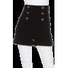 モールスキンハイウェストショートパンツ - Shorts - ¥5,376  ~ $47.77