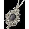 ヴィンテージ風一粒ストーンネックレス - Necklaces - ¥1,890  ~ $16.79