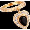 【jupiter GOLD LABEL】[fairy]diamanteハートリング - Nakit - ¥12,600  ~ 96.15€