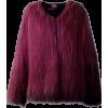 faux fur coat - Jacken und Mäntel -