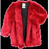 faux fur jacket - Jaquetas e casacos -